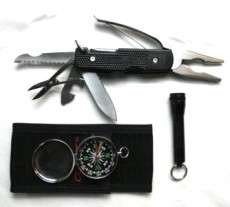 Coast Sportsman Kit met Multi Tool (14 in 1), Kompas en Zaklamp